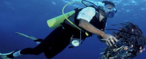 Initiative de nettoyage de plage et de l'océan