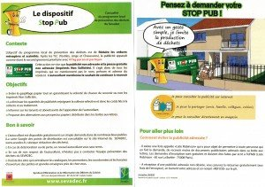 Le dispositif stop pub