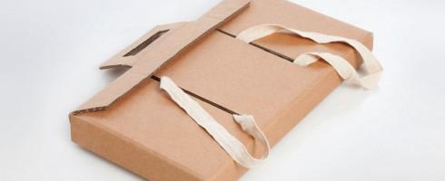 Le cartable-bureau en carton, une idée géniale et sociale