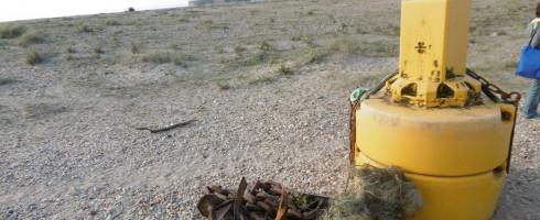 Nettoyage à Ambleteuse – La Plage : Des têtes à Slack, ces pollueurs !