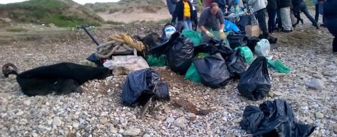 Nettoyage à Wimereux – La Pointe aux Oies : Une plage propre, enfin presque…